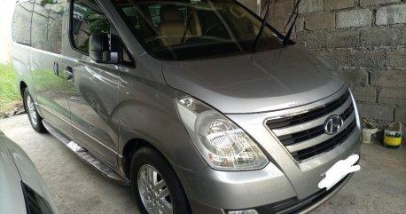 Silver Hyundai Grand Starex 2017 for sale in Muntinlupa