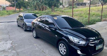 Selling Black Hyundai Accent 2013 in Muntinlupa