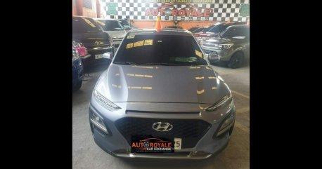 Selling Grey Hyundai Kona 2019 in Quezon City