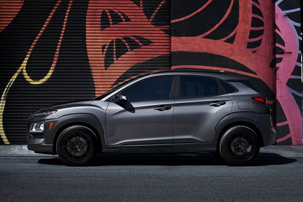 2021 Hyundai Kona Night Edition shows the youthful crossover's dark side
